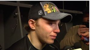 Patrick Kane talking about his late grandfather.